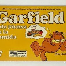 Cómics: CÓMIC GARFIELD -SOLO PIENSA EN LA COMIDA- Nº17 EDICIONES JUNIOR S.A GRUPO EDITORIAL GRIJALBO. Lote 182630536