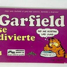 Cómics: CÓMIC GARFIELD -SE DIVIERTE- Nº4 EDICIONES JUNIOR S.A GRUPO EDITORIAL GRIJALBO. Lote 182630650