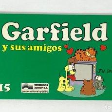 Cómics: CÓMIC GARFIELD -Y SUS AMIGOS- Nº15 EDICIONES JUNIOR S.A GRUPO EDITORIAL GRIJALBO. Lote 182630910