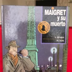 Cómics: MAIGRET Y SU MUERTO. REYNAUD. WURN. JUNIOR GRIJALBO. N° 1.NO LEIDO. 1993. Lote 182748832