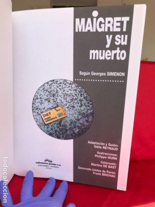 Cómics: Maigret y su muerto. Reynaud. Wurn. Junior Grijalbo. N° 1.no leido. 1993 - Foto 3 - 182748832