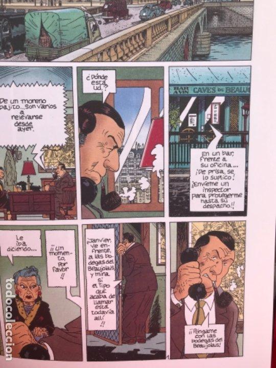 Cómics: Maigret y su muerto. Reynaud. Wurn. Junior Grijalbo. N° 1.no leido. 1993 - Foto 5 - 182748832