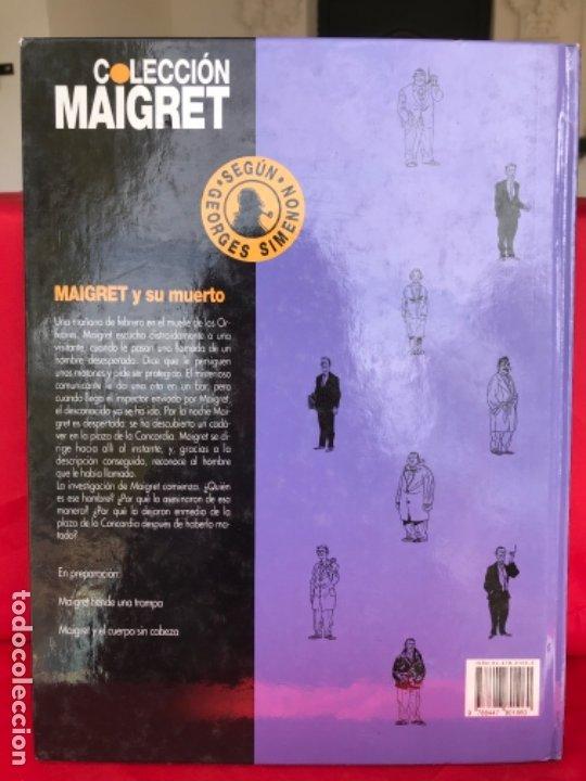 Cómics: Maigret y su muerto. Reynaud. Wurn. Junior Grijalbo. N° 1.no leido. 1993 - Foto 7 - 182748832