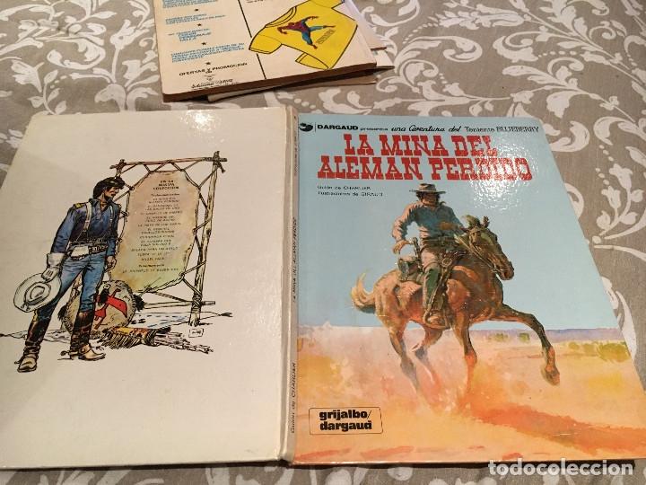 TENIENTE BLUEBERRY Nº 1 LA MINA DEL ALEMAN PERDIDO- GRIJALBO 1981 TAPA DURA (Tebeos y Comics - Grijalbo - Blueberry)