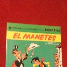 Cómics: LUCKY LUKE - EL MANETES - MORRIS & LO HARTOG - RUSTICA - EN CATALAN. Lote 182841692