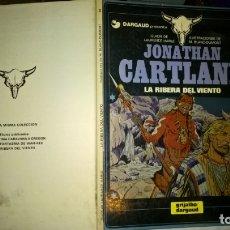 Cómics: COMIC: JONATHAN CARTLAND - Nº 3 - LA RIBERA DEL VIENTO - LAURENCE HARLE, M. BLANC-DUMONT. TAPA DURA. Lote 182913067