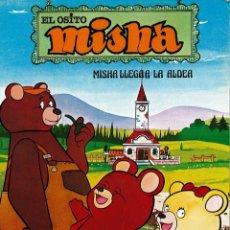 Cómics: EL OSITO MISHA LLEGA A LA ALDEA (GRIJALBO) - 1980. Lote 182925545