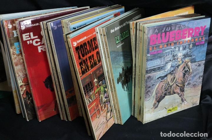 LOTE COLECCIÓN DE 28 NÚMEROS TENIENTE M. S BLUEBERRY (Tebeos y Comics - Grijalbo - Blueberry)