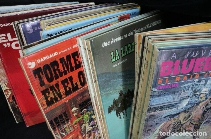 Cómics: LOTE COLECCIÓN DE 28 números Teniente M. S Blueberry - Foto 3 - 183033436