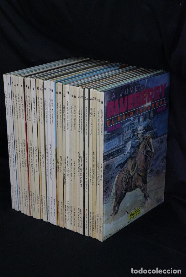 Cómics: LOTE COLECCIÓN DE 28 números Teniente M. S Blueberry - Foto 4 - 183033436