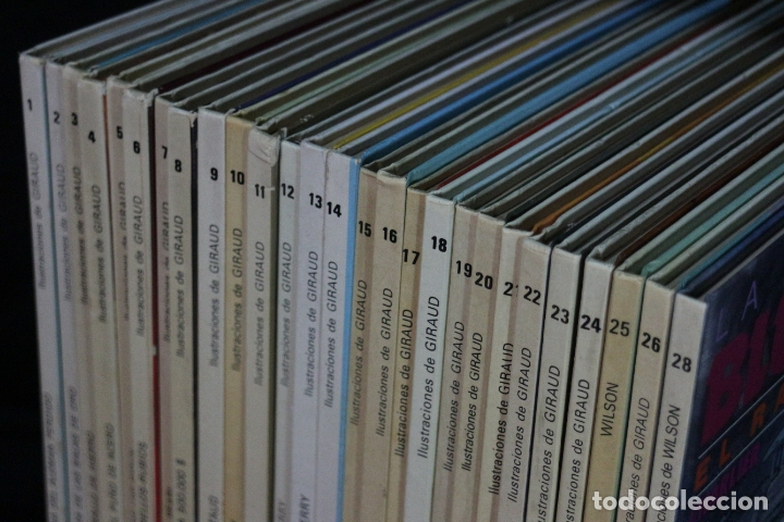 Cómics: LOTE COLECCIÓN DE 28 números Teniente M. S Blueberry - Foto 5 - 183033436