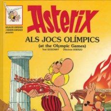 Cómics: COLECCIÓN ASTÈRIX: ASTÈRIX ALS JOCS OLÍMPICS (AT OLYMPIC GAMES). BILINGÜE EN CATALAN Y EN INGLÉS. Lote 183086432