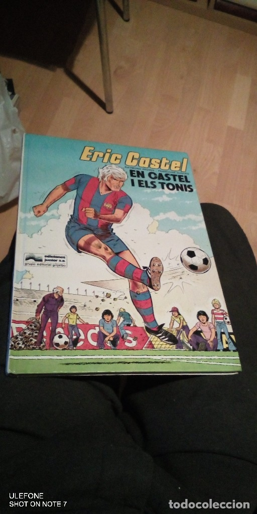ERIC CASTEL EN CASTEL I ELS TONIS GRIJALBO NUMERO 1980 (Tebeos y Comics - Grijalbo - Eric Castel)