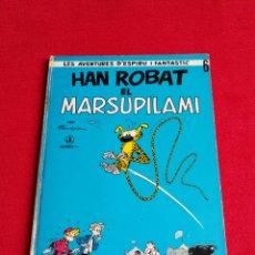 Cómics: FRANQUIN-HAN ROBAT EL MARSUPILAMI-LES AVENTURES D' ESPIRU I FANTASTIC Nº 6 -JAIMES 1968. CATALÀ. Lote 183300407