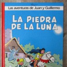Cómics: LAS AVENTURAS DE JUAN Y GUILLERMO - LA PIEDRA DE LA LUNA - EDICIONES DARGAUD / GRIJALBO. Lote 183304425