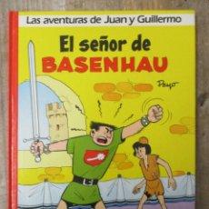 Cómics: LAS AVENTURAS DE JUAN Y GUILLERMO - EL SEÑOR DE BASENHAU - EDICIONES DARGAUD / GRIJALBO. Lote 183305843