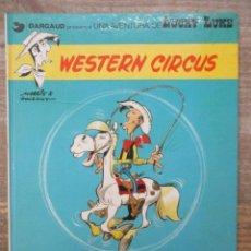 Cómics: LUCKY LUKE - Nº 15 - WESTERN CIRCUS - TAPA DURA - GRIJALBO / JUNIOR. Lote 183306730