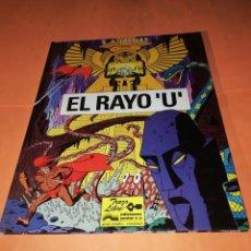 Cómics: EL RAYO U. TRAZO LIBRE. EDICIONES JUNIOR . GRUPO GRIJALBO. 1991. BUEN ESTADO.. Lote 183311582