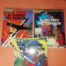 Cómics: BLAKE Y MORTIMER . EL SECRETO DEL ESPADON. 1 ª,2ª Y 3ª PARTES. EDICIONES JUNIOR. GRIJALBO. 1987. Lote 183315610
