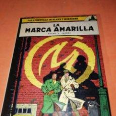 Cómics: BLAKE Y MORTIMER. LA MARCA AMARILLA. EDICIONES JUNIOR. GRIJALBO . 1984.. Lote 183316321