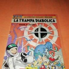 Cómics: BLAKE Y MORTIMER. LA TRAMPA DIABOLICA. EDICIONES JUNIOR. GRIJALBO . 1985.. Lote 183316818