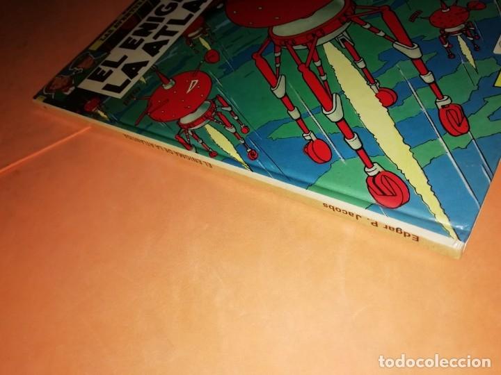 Cómics: BLAKE Y MORTIMER. EL ENIGMA DE LA ATLANTIDA. EDICIONES JUNIOR. GRIJALBO . 1985. - Foto 5 - 220284905
