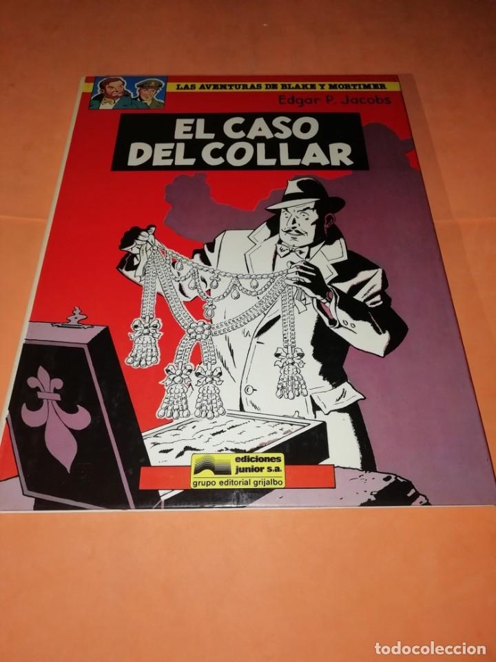 Cómics: BLAKE Y MORTIMER. EL ENIGMA DE LA ATLANTIDA. EDICIONES JUNIOR. GRIJALBO . 1985. - Foto 6 - 220284905