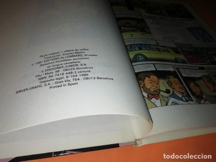 Cómics: BLAKE Y MORTIMER. EL ENIGMA DE LA ATLANTIDA. EDICIONES JUNIOR. GRIJALBO . 1985. - Foto 8 - 220284905