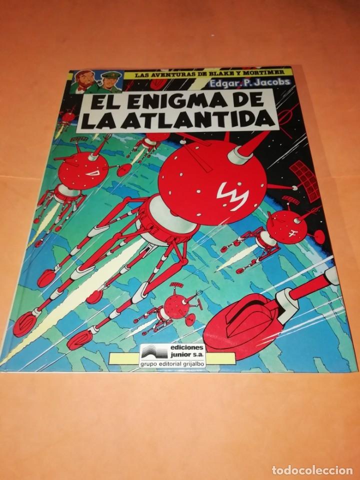 BLAKE Y MORTIMER. EL ENIGMA DE LA ATLANTIDA. EDICIONES JUNIOR. GRIJALBO . 1985. (Tebeos y Comics - Grijalbo - Blake y Mortimer)