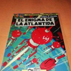 Cómics: BLAKE Y MORTIMER. EL ENIGMA DE LA ATLANTIDA. EDICIONES JUNIOR. GRIJALBO . 1985.. Lote 220284905