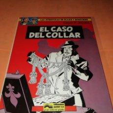 Cómics: BLAKE Y MORTIMER. EL CASO DEL COLLAR. EDICIONES JUNIOR. GRIJALBO . 1984.. Lote 183318808