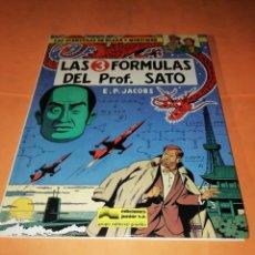Cómics: BLAKE Y MORTIMER. LAS TRES FORMULAS DEL PROF. SATO. EDICIONES JUNIOR. GRIJALBO . 1986.. Lote 183319061