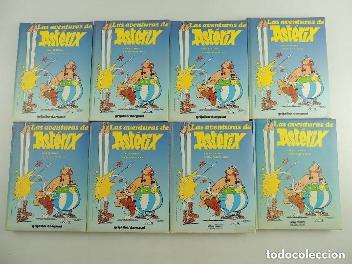 COLECCIÓN DE 8 TOMOS DE LAS AVENTURAS DE ASTERIX GRIJALBO BARCELONA (Tebeos y Comics - Grijalbo - Asterix)
