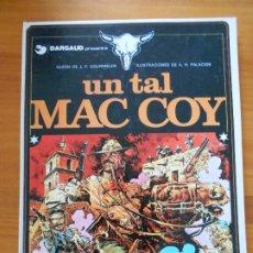 Cómics: UN TAL MAC COY Nº 2 - GOURMELEN, PALACIOS - GRIJALBO / DARGAUD - TAPA DURA (C3). Lote 183383725