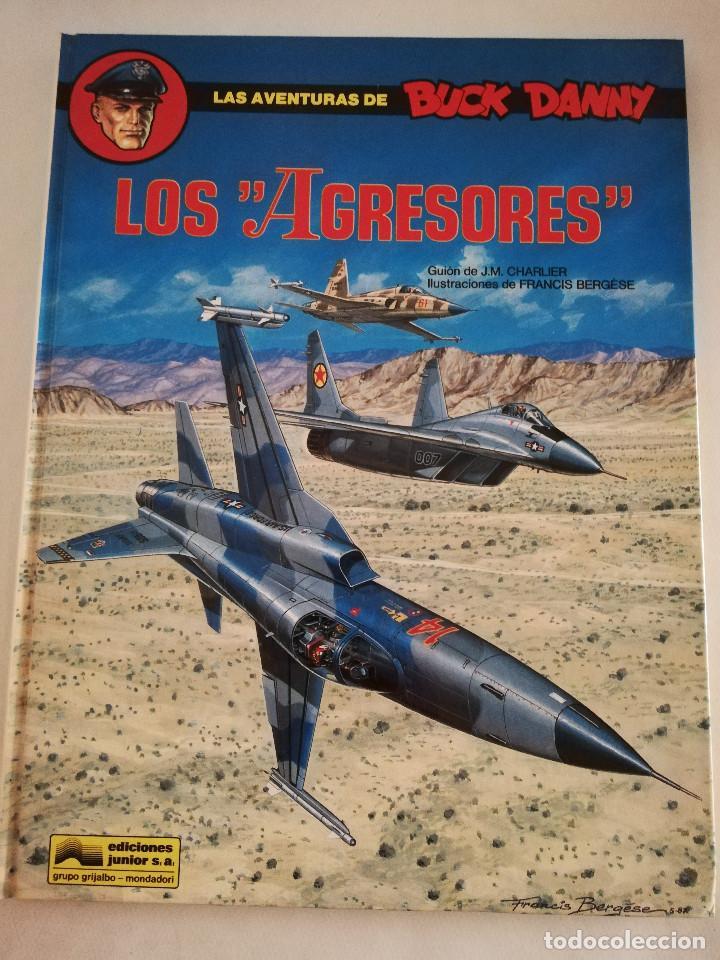 LOS AGRESORES (LAS AVENTURAS DE BUCK DANNY Nº 44) GUIÓN DE J. M. CHARLIER (Tebeos y Comics - Grijalbo - Buck Danny)