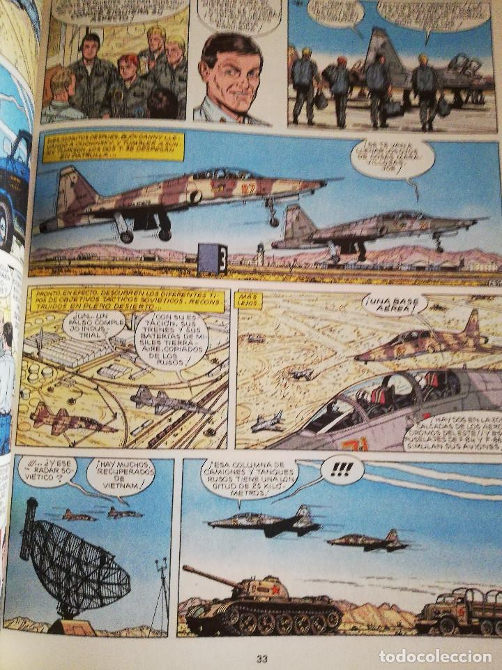 Cómics: LOS AGRESORES (LAS AVENTURAS DE BUCK DANNY Nº 44) GUIÓN DE J. M. CHARLIER - Foto 4 - 183391000