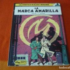 Cómics: LA MARCA AMARILLA BLAKE Y MORTIMER 3 ( EDGAR P. JACOBS ) JUNIOR 1984 GRIJALBO. Lote 183455953