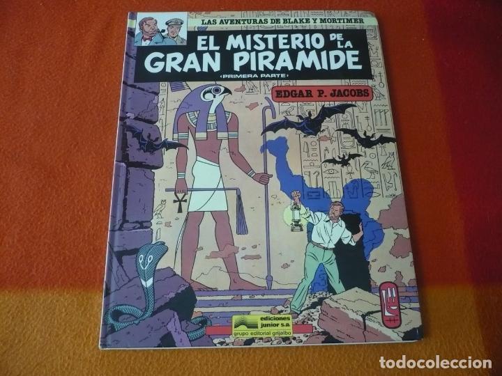 EL MISTERIO DE LA GRAN PIRAMIDE 1ª PARTE BLAKE Y MORTIMER ( JACOBS ) ¡BUEN ESTADO! JUNIOR 1983 (Tebeos y Comics - Grijalbo - Blake y Mortimer)