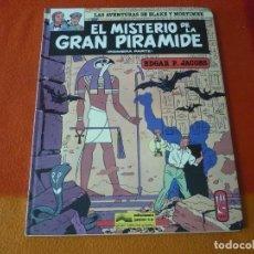 Cómics: EL MISTERIO DE LA GRAN PIRAMIDE 1ª PARTE BLAKE Y MORTIMER ( JACOBS ) ¡BUEN ESTADO! JUNIOR 1983 . Lote 183456097