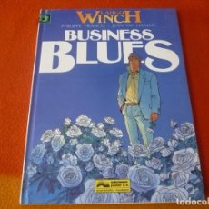 Cómics: LARGO WINCH 4 BUSINESS BLUES ( FRANCQ VAN HAMME ) ¡MUY BUEN ESTADO! JUNIOR 1994 TAPA DURA. Lote 183467068