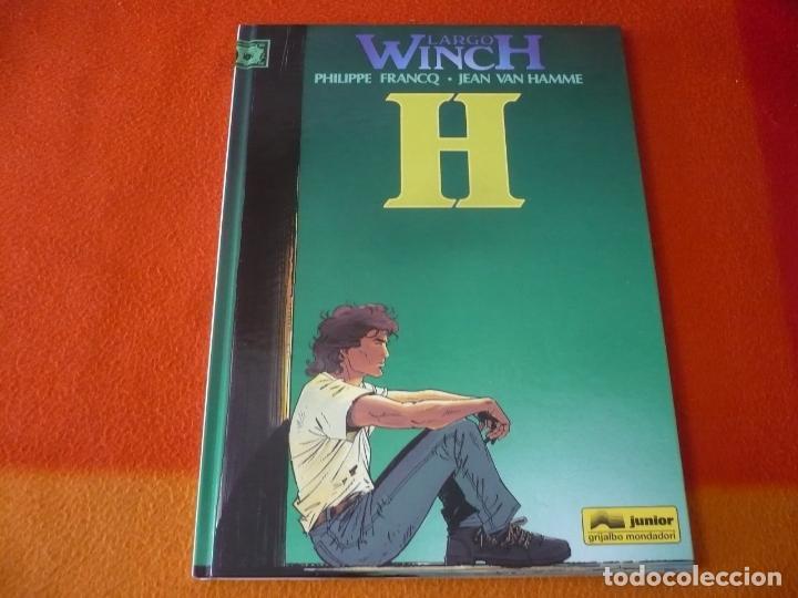 LARGO WINCH 5 H ( FRANCQ VAN HAMME ) ¡MUY BUEN ESTADO! JUNIOR 1995 TAPA DURA (Tebeos y Comics - Grijalbo - Largo Winch)