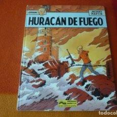 Cómics: LEFRANC 2 HURACAN DE FUEGO ( JACQUES MARTIN ) JUNIOR 1986 TAPA DURA GRIJALBO. Lote 183467628