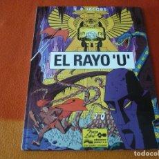 Cómics: EL RAYO U ( EDGARD P. JACOBS ) ¡MUY BUEN ESTADO! JUNIOR 1991 TAPA DURA GRIJALBO. Lote 183467966