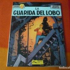 Cómics: LEFRANC 4 LA GUARIDA DEL LOBO ( JACQUES MARTIN ) ¡BUEN ESTADO! JUNIOR 1986 TAPA DURA GRIJALBO. Lote 183544710