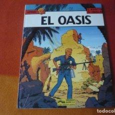 Cómics: LEFRANC 7 EL OASIS ( J. MARTIN CHAILLET) ¡BUEN ESTADO! JUNIOR 1987 TAPA DURA GRIJALBO. Lote 183546215