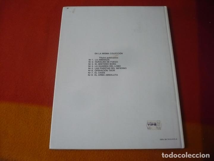 Cómics: LEFRANC 8 EL ARMA ABSOLUTA ( J. MARTIN CHAILLET) ¡BUEN ESTADO! JUNIOR 1988 TAPA DURA GRIJALBO - Foto 2 - 183546346