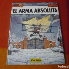 Cómics: LEFRANC 8 EL ARMA ABSOLUTA ( J. MARTIN CHAILLET) ¡BUEN ESTADO! JUNIOR 1988 TAPA DURA GRIJALBO. Lote 183546346