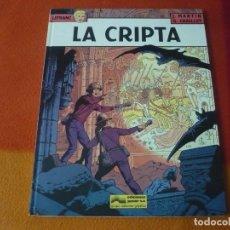 Cómics: LEFRANC 9 LA CRIPTA ( J. MARTIN CHAILLET) ¡BUEN ESTADO! JUNIOR 1988 TAPA DURA GRIJALBO. Lote 183546581