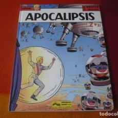 Cómics: LEFRANC 10 APOCALIPSIS ( J. MARTIN CHAILLET) ¡MUY BUEN ESTADO! JUNIOR 1989 TAPA DURA GRIJALBO. Lote 183546808