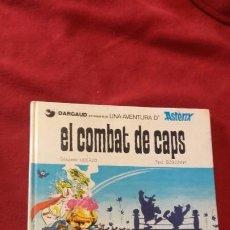 Cómics: ASTERIX - EL COMBAT DELS CAPS - GOSCINNY & UDERZO - CARTONE - EN CATALAN. Lote 183547982